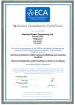 ECA Technical Certificate 2019-20