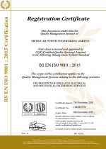 ISO9001 Certificate of Registration (Expires 2019.11.06.)