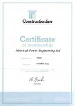Constructionline-Certificate